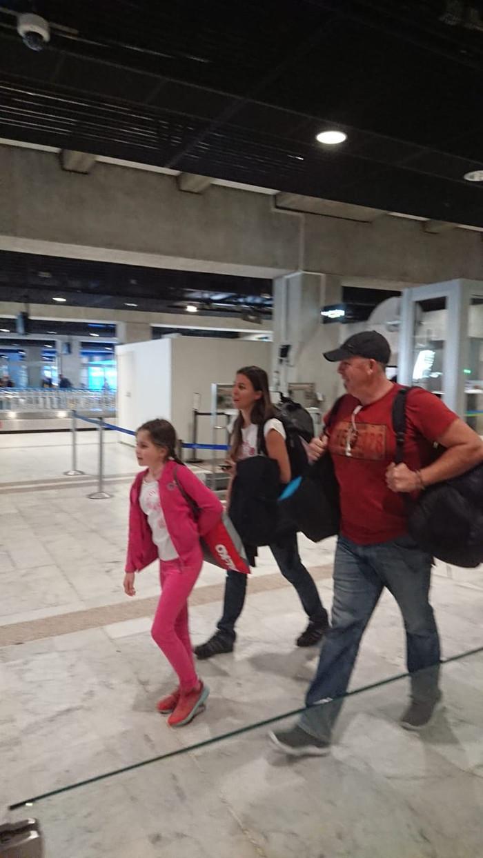 Arrivée à l'aéroport de Nice