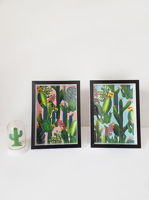 Totally Tropical Cactus Prints