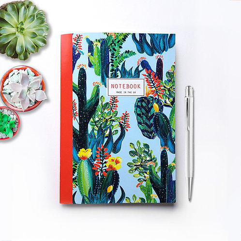 A5 'Cacti lover' Lined Notebook