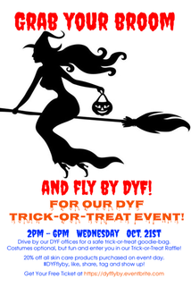 Don't Miss Our Drive-Thru Trick-or-Treat!