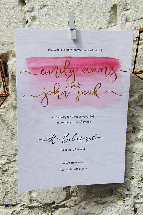 Ombré Invitations