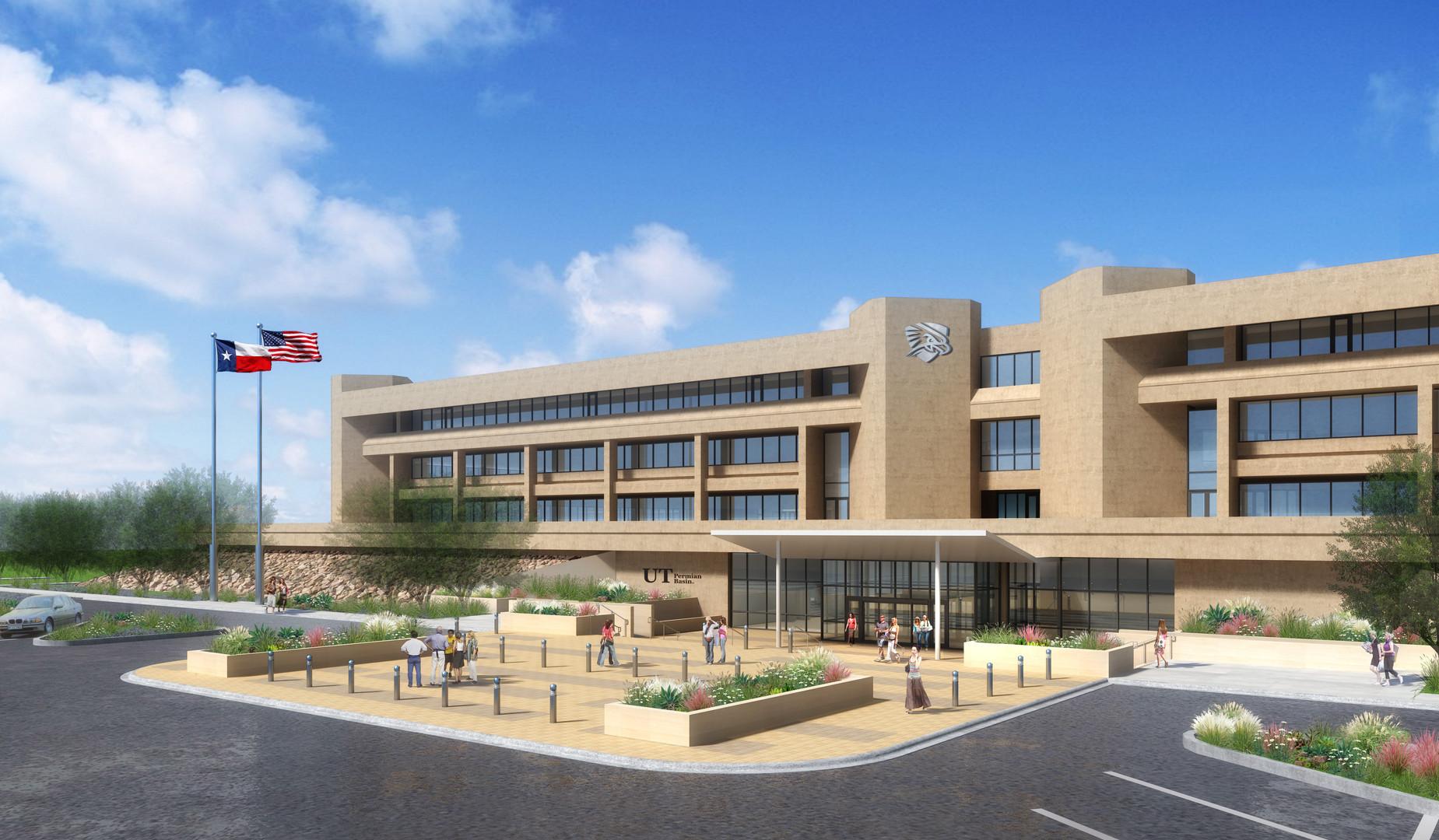 UTPB Future Mesa Building Entry