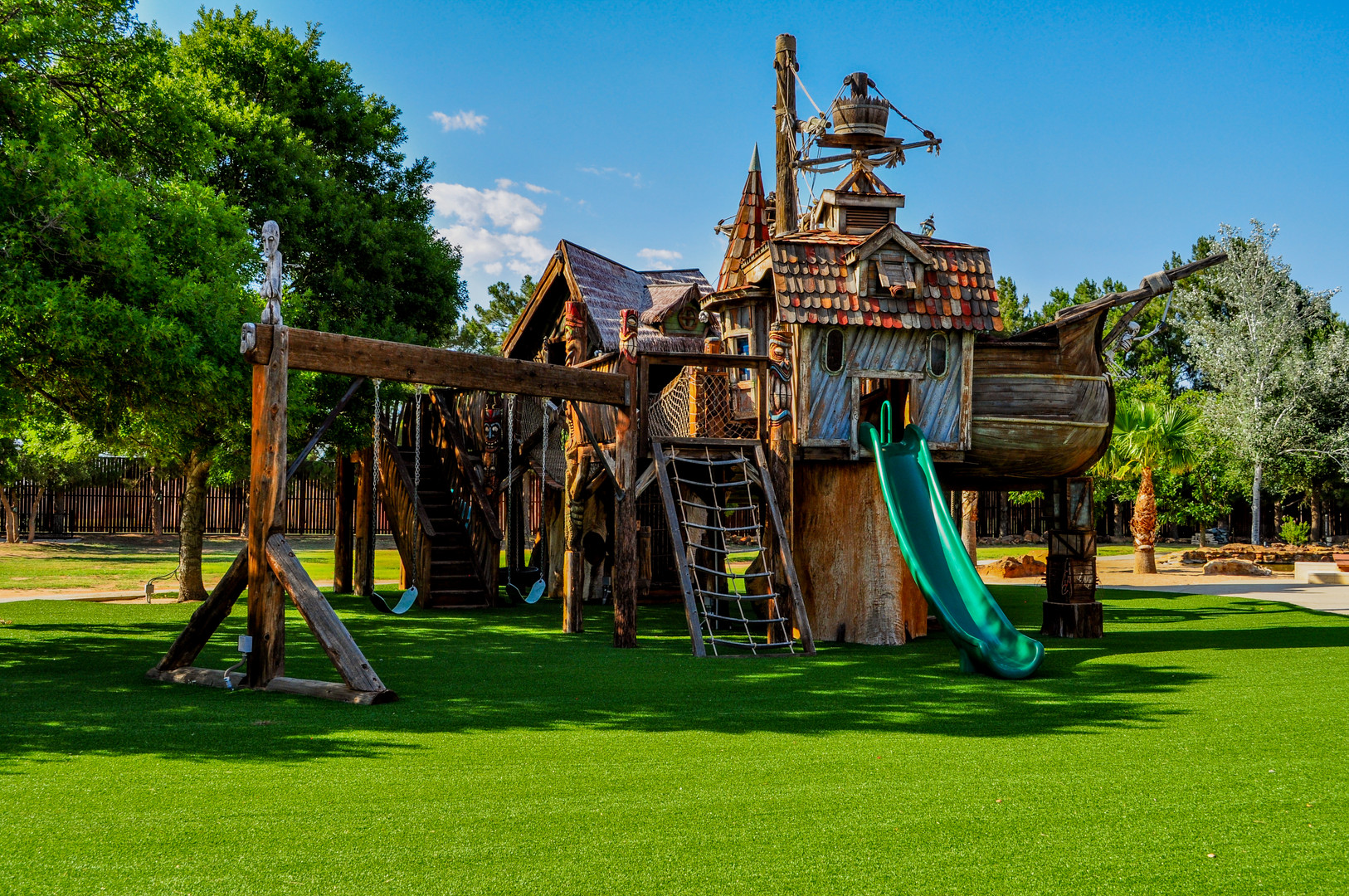 Custom Shipwreck Playground