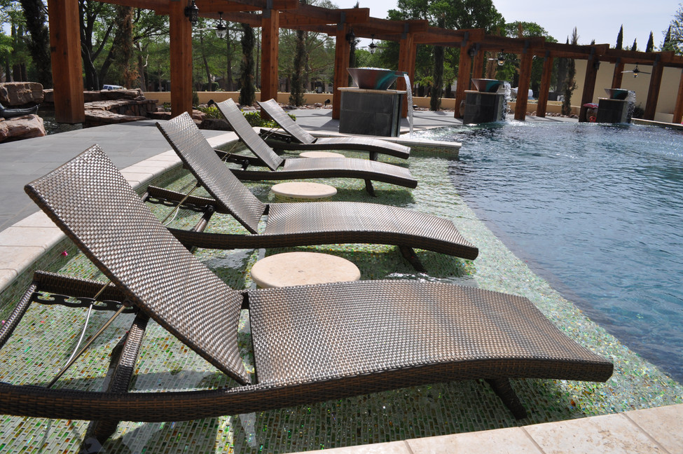 Poolside Sunning Shelf
