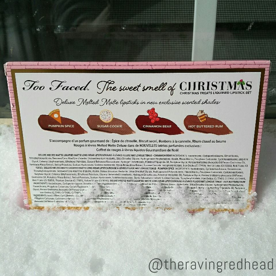 Too Faced The Sweet Smell of Christmas Packaging