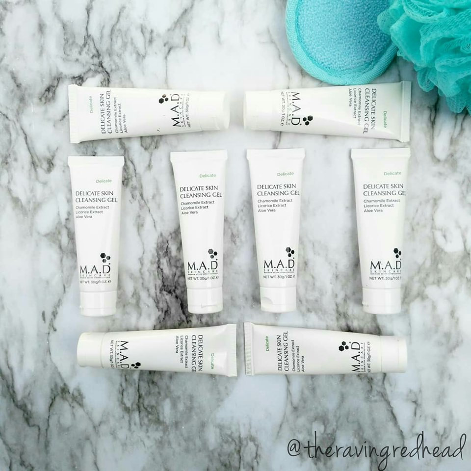 M.A.D Skincare Delicate Skin Cleansing Gel Samples