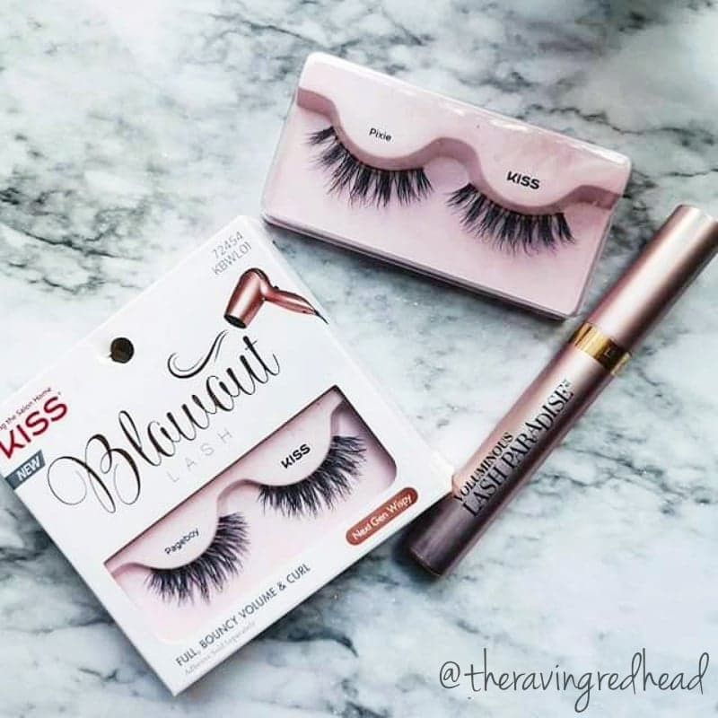 L'Oreal Lash Paradise and Kiss Blowout Lashes in Pixie and Pageboy