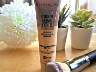 Review: Maybelline Dream Urban Cover Sunscreen Foundation