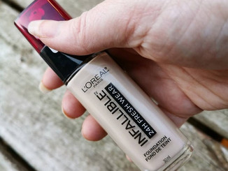 Review: L'Oreal Infallible Fresh Wear 24HR Foundation