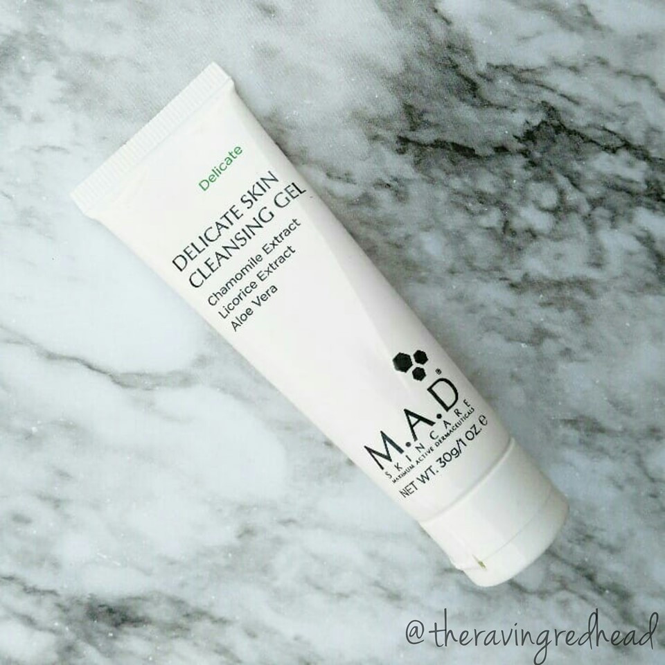 M.A.D Skincare Delicate Skin Cleansing Gel Sample