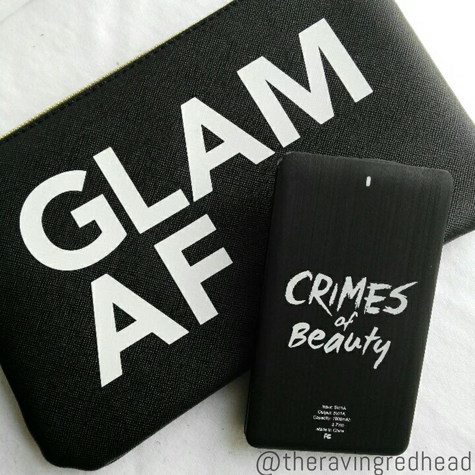 Crimes of Beauty Wristlet & Portable Charger