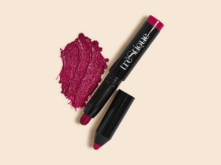 TRÈSTIQUE Mini Lip Glaze in English Rose