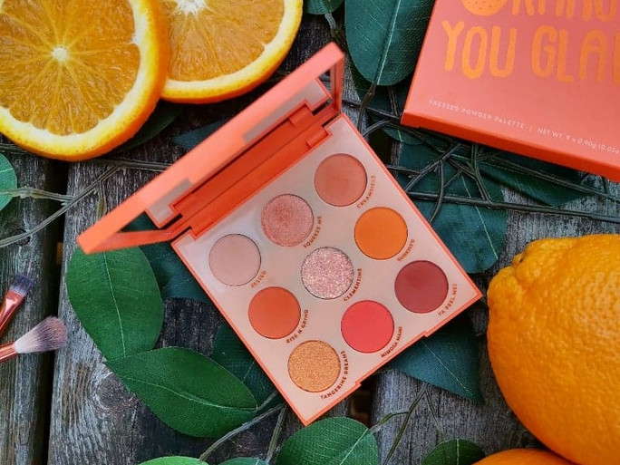 Review: Colourpop Orange You Glad Palette