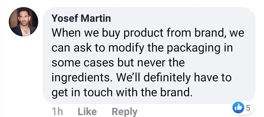 Yosef Martin Statement