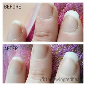Barielle Fingernail Mask Before and After