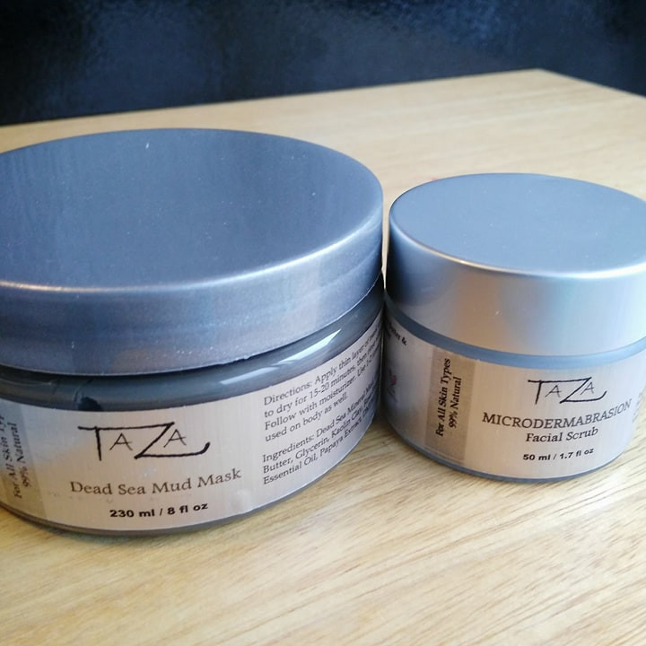 Taza Dead Sea Mud Mask and Taza MicroDermabrasion Scrub