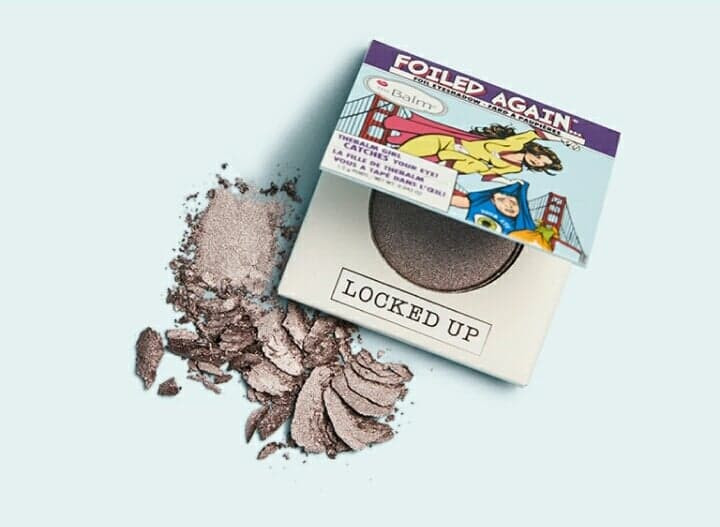 The Balm Foiled Again Eyeshadow in Locked Up