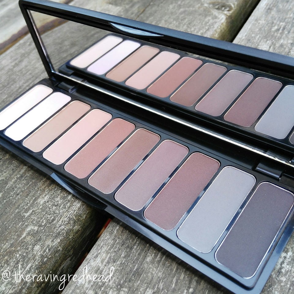 e.l.f. cosmetics mad for matte eyeshadow palette