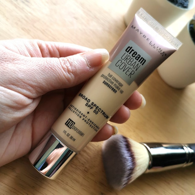 Maybelline Urban Cover Foundation Sunscreen