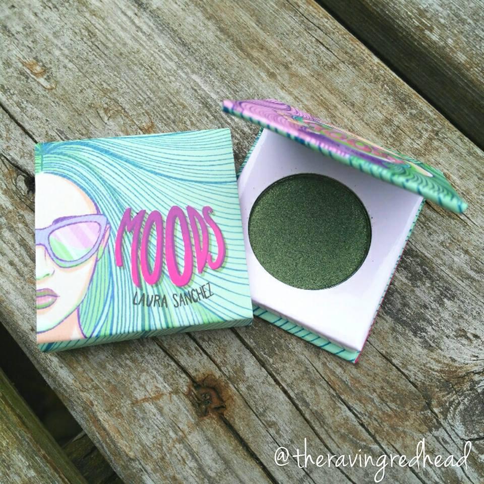 Laura Sanchez Moods Eyeshadow in Martini Olive Green