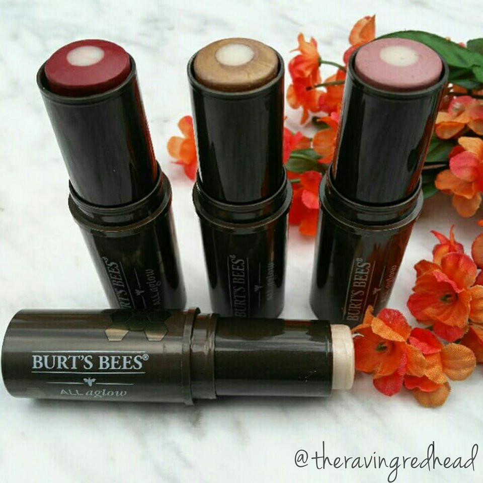 Burt's Bees All Aglow Makeup Sticks