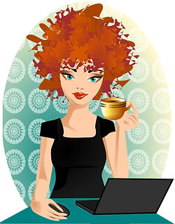 The Raving Redhead Logo