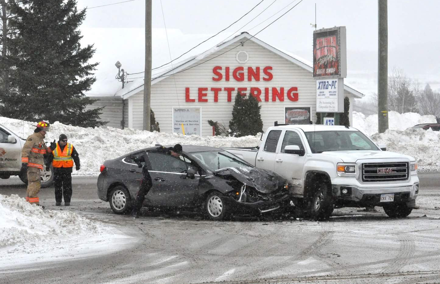 Accident Madawaska road