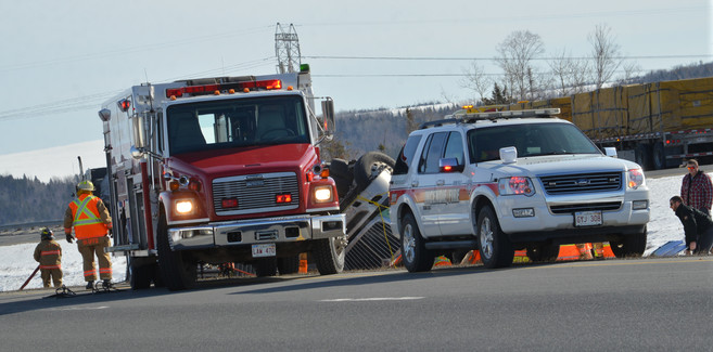 Accident Transport -  Trans Canadienne