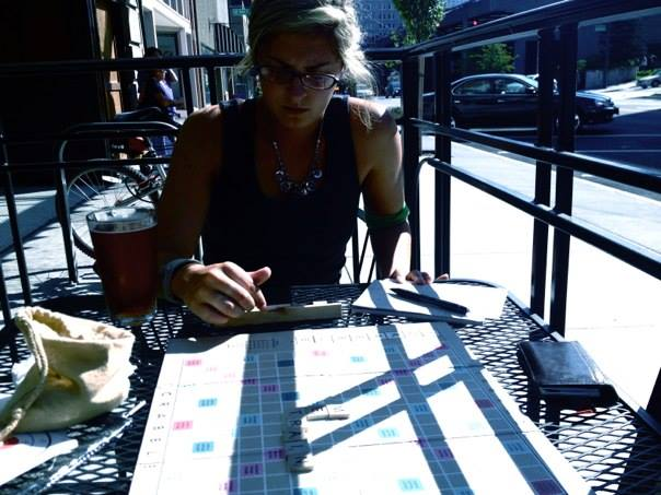 Scrabble in Seattle, Washinton