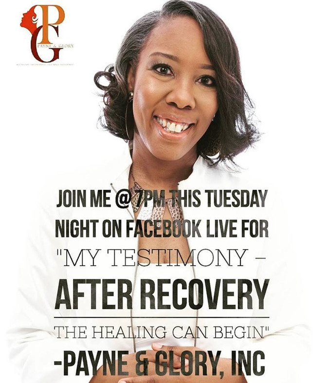 """""""After Recovery The Healing Can Begin - Pt. 2 - My Testimony"""""""