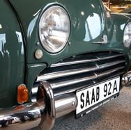 Parkeringslygte sidder særskilt. Blinklys eftermonteret for at blive synet og godkendt i Danmark.