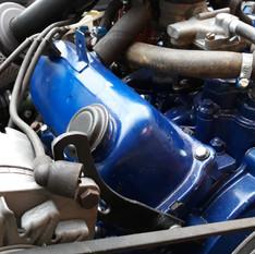"""Motor """"blå"""" model"""