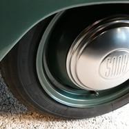 Ingen ventilationshuller til afkøling af bremserne.