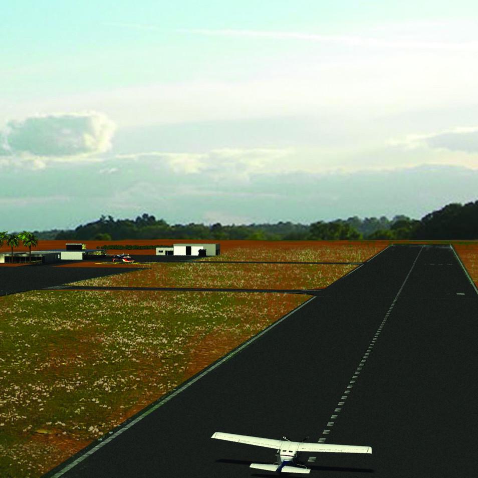 Aeródromo em Bilene