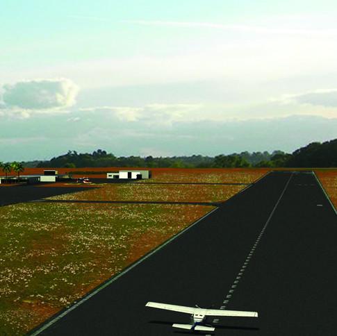 Airfield in Bilene