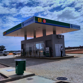 Gas Station in Hoque