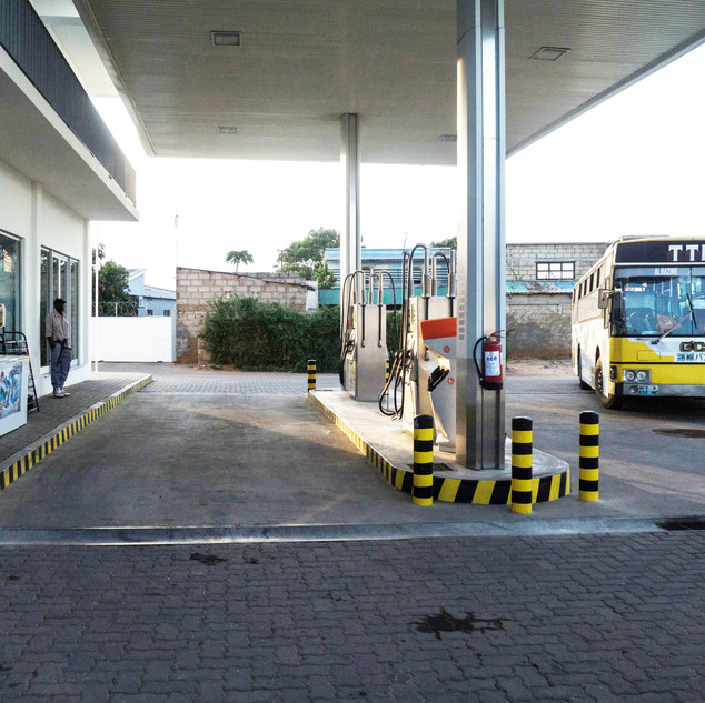 Posto de abastecimento da Circular de Maputo