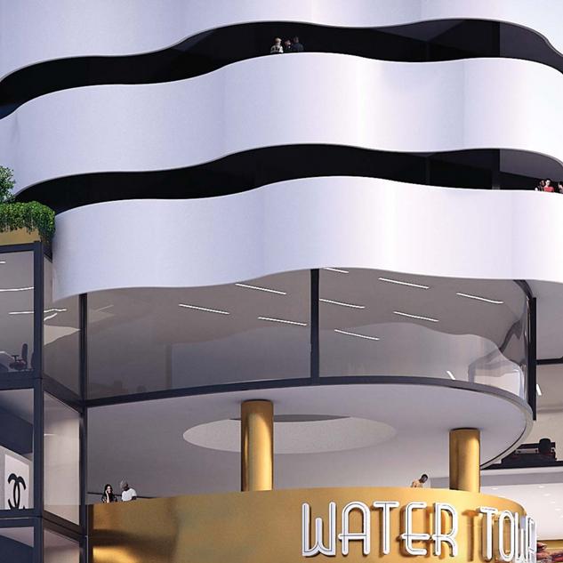 Water Tower em Luanda