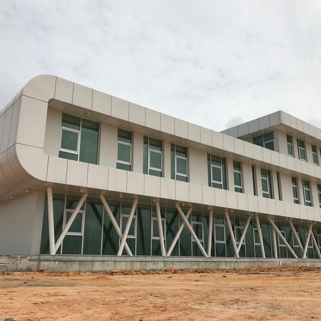 Edifício da Administração do Porto Seco do Soyo