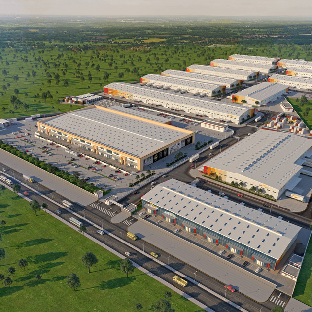 Parque Empresarial da Agility em Maputo