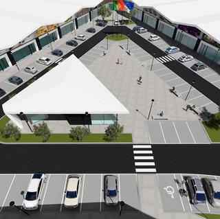 Commercial complex in Alcantarilha