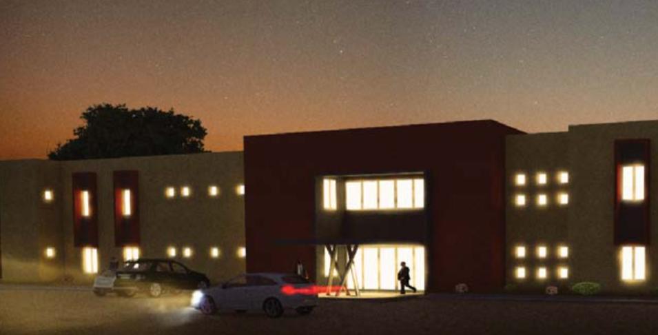Edifício-Sede do INGC em Maputo