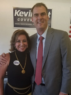 Governor Stitt & Victoria