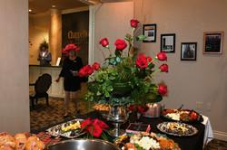 Refreshments Table & Shelley Myatt
