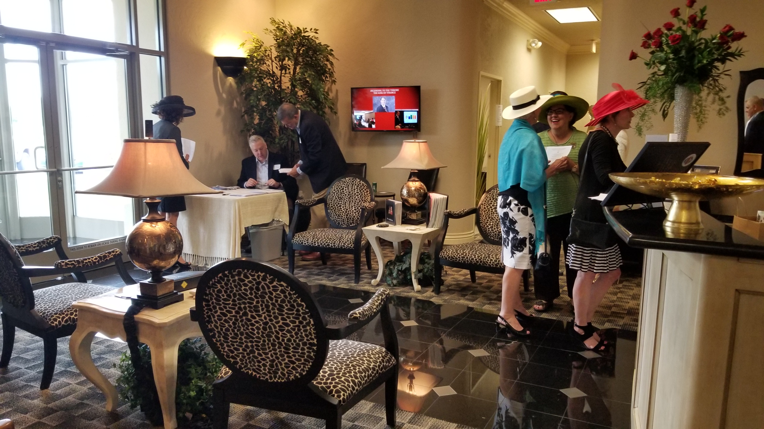 Kentucky Derby Lobby