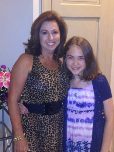 Victoria & her grandaughter, Cami