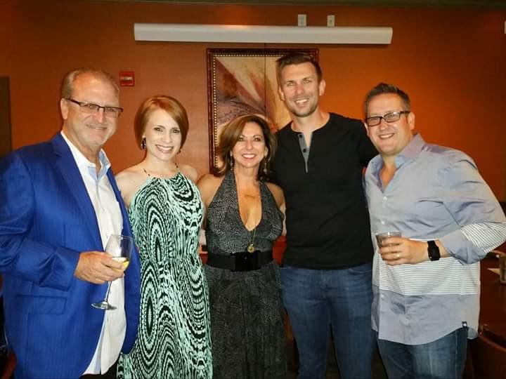 Emmy Winner, Nick Nanton with Victoria