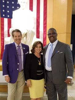 FOX BUSINESS, TV Host, Author Charles Payne & Victoria