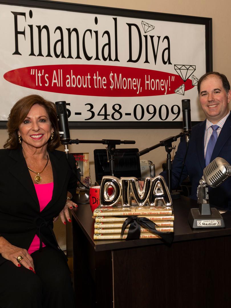 Damon King & Victoria- The Financial Diva Radio Show
