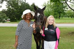 DeAnna Williams, Stephanie Perry & Horse